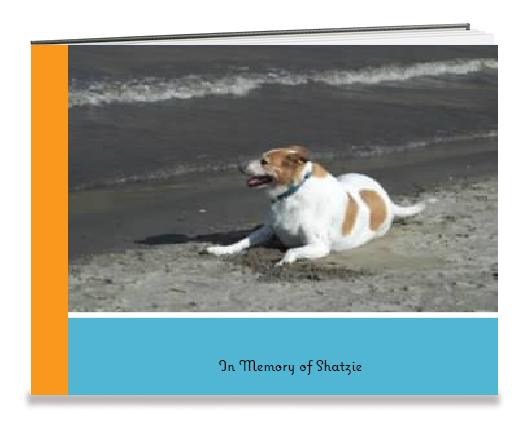 Shatzie Shutterfly Photobook