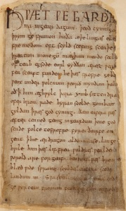Beowulf in Old English.