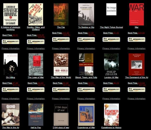 Check out Dan Carlin's blog and surf to Amazon to buy books from his reading list.